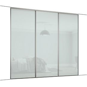 Spacepro Classic 3 Door Framed Glass Sliding Wardrobe