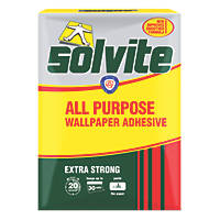 Solvite Extra Strong Wallpaper Adhesive Trade Box 30 Roll Pack