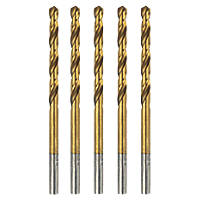 Erbauer  Ground HSS Drill Bit 4 x 75mm 5 Pack