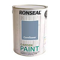 Ronseal Garden Paint Cornflower 5Ltr
