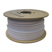 Prysmian 6242BH White 4mm² Twin & Earth Cable 100m Drum
