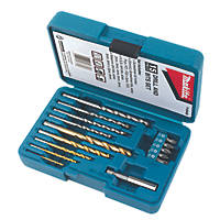 Makita Hex Shank Combination Drill & Screwdriver Bit Set 15 Pieces