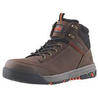 Scruffs Switchback 3   Safety Boots Chocolate Size 9
