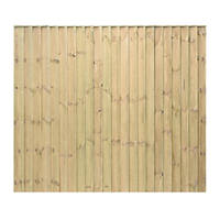 Grange Professional Featheredge Fence Panels 1.83 x 1.5m 3 Pack