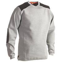 "Herock Artemis Sweater Heather Grey Medium 36-39"" Chest"