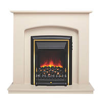 Be Modern Lusso Eco Electric Suite Ivory-Effect