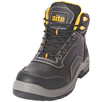 Site Froswick   Safety Boots Black Size 7