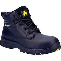 Amblers AS605C  Ladies Safety Boots Black Size 4