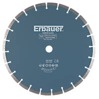 Erbauer Masonry/Stone Segmented Diamond Cutting Blade 350 x 25.4mm