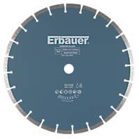 Erbauer Diamond Segmented Blade 350 x 25.4mm