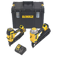 DeWalt DCK264P2-GB 18V 5.0Ah Li-Ion XR Brushless Cordless Nail Gun Twin Pack
