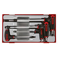 Teng Tools TTHEX7 Metric T-Handle Hex Key Set 7 Pcs