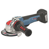 "Bosch GWX 18V-10 PC X-Lock 18V Li-Ion Coolpack 5"" Brushless Cordless Angle Grinder - Bare"