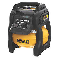 DeWalt DCC1054T2-GB 10Ltr 54V 6Ah Li-Ion XR FlexVolt Brushless Cordless Compressor