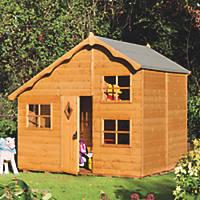 Rowlinson Swiss Cottage Playhouse 8 x 7'