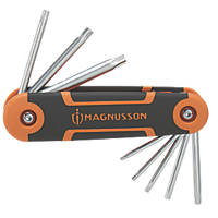 Magnusson  TX Folding TX Key Set 8 Pieces