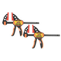 "Roughneck Ratcheting Bar Clamp & Separator 6"" 2 Pack"