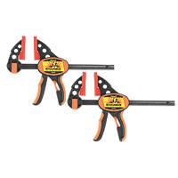 "Roughneck Ratchet Bar Clamp & Separator 6"" 2 Pack"