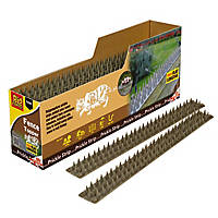 STV Pest Free Defenders Prickle Strip Fence Top Flat Pest Deterrent 24 Pack