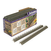 STV Pest Free Defenders Prickle Strip Fence Top L-Shape Pest Deterrent 24 Pack