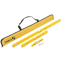 Stabila 80-2 Series Spirit Level 3 Piece Set