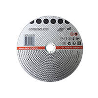 "Metal Cutting Discs 9"" (230mm) x 2 x 22.2mm 5 Pack"