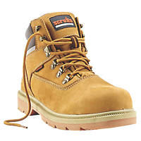 Scruffs Palermo Safety Boots Honey Size 10