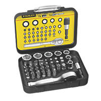 "Stanley FatMax ¼"" Socket & Screwdriver Bit Set 39 Pieces"