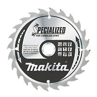 Makita TCT Circular Saw Blade 165 x 20mm 24T