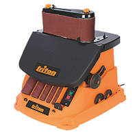 """Triton TSPST450 4"""" 450W  Electric Oscillating Spindle & Belt Sander 240V"""