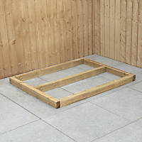 Forest Shed Base Self-Assembly 4' x 3'