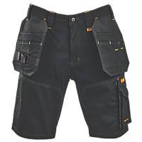 "DeWalt Shelby Multi-Pocket Shorts Black 36"" W"