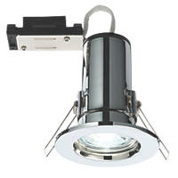LAP  Fixed Fire Rated LED Downlight Chrome 240lm 2.5W 240V