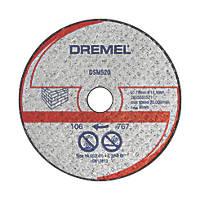 "Dremel Saw-Max  Masonry Cutting Disc 2"" (55mm) x 5 x 11mm 2 Pack"