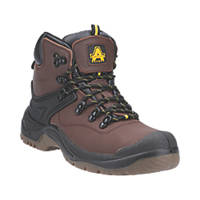 Amblers FS197   Safety Boots Brown Size 10