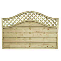 Forest Prague Fence Panels 1.8 x 1.2m 3 Pack