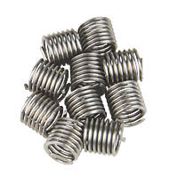Helicoil Thread Repair Inserts  M6 x 1.0mm 10 Pack