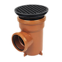 FloPlast D510 Circular Grid Bottle Gully