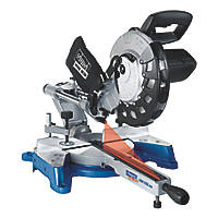 Scheppach HM100LXU 254mm  Electric Single-Bevel Sliding Compound Mitre Saw 230V