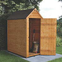 Forest 3' x 5' (Nominal) Apex Overlap Timber Shed with Assembly
