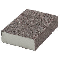 Norton Sanding Sponges 68 x 100mm 40 / 80 Grit 6 Pack
