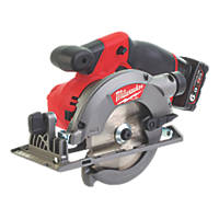 Milwaukee M12 CCS44-602X FUEL 140mm 12V 6.0Ah Li-Ion RedLithium Brushless Cordless Circular Saw