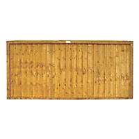 Forest Closeboard  Fence Panels 1.83 x 0.91m 7 Pack