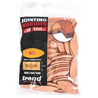 Trend No. 20 Jointing Biscuits 100 Pack