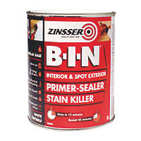 Zinsser B-I-N Shellac-Based Primer Sealer 1Ltr