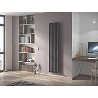 Ximax Fortuna Designer Radiator 1800 x 526mm Anthracite 3516BTU