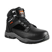 Scruffs Rapid Waterproof   Safety Boots Black / Grey / Light Grey Size 10