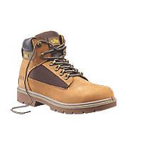 Site Quartz   Safety Boots Honey Size 8