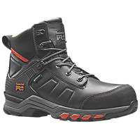 Timberland Pro Hypercharge   Safety Boots Black / Orange  Size 8