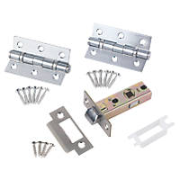 Smith & Locke Latch Pack Satin Chrome
